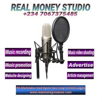 Music recording studio in Bariga Lagos mainland